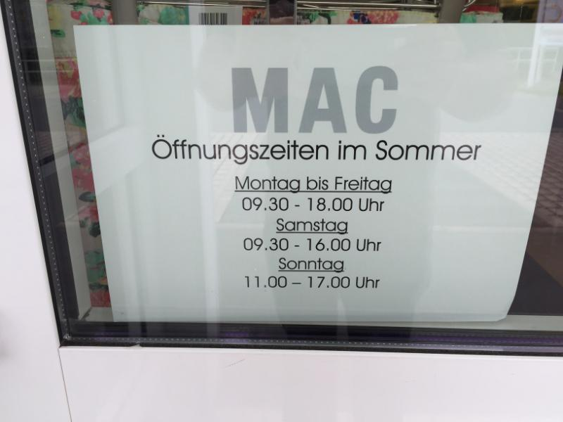MAC Outlet  Bad Fredeburg