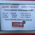 Die Halle Fashion Outlet Xanten-Birten