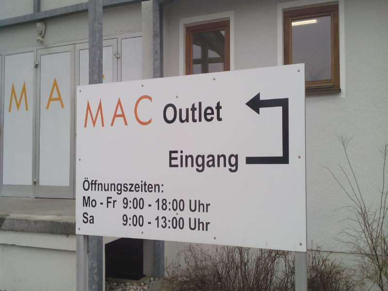 MAC Outlet  Pfreimd