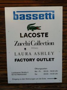 Laura Ashley Outlet  Martinsried